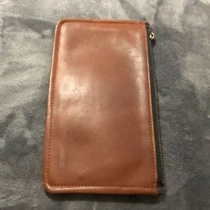 Coach Vintage checkbook size wallet